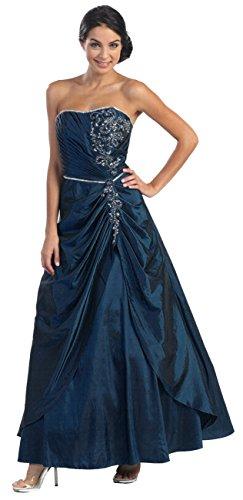 leid Corsagenkleid Abendkleid A-Linie XL Brautmutterkleider Hochzeitsgäste (Taufe Kleider Für ältere Mädchen)