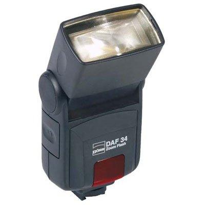 Dörr 370903 DAF-34 Zoom Systemblitzgerät für Sony/Minolta Kamera