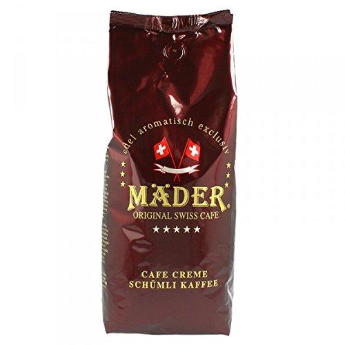 Mäder Barista 1000g Bohnen - Espresso Kaffee