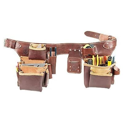 Occidental Leather 5191 Pro Carpenter's 5 Bag Tool Belt Assembly, Large by Occidental Leather