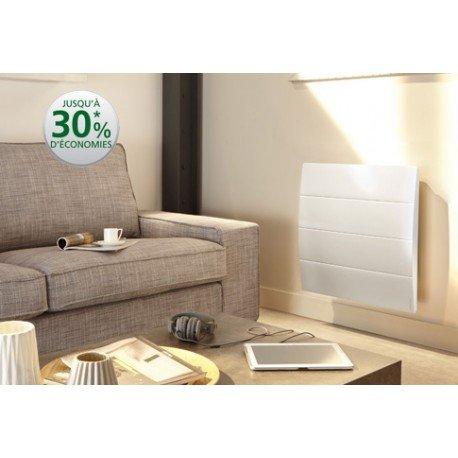 radiateur électrique connecté - atlantic calissia - 750 watts - horizontal