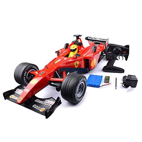 Tletiy F1 Formel Fernbedienung Racing sehr große 77 cm 1: 6 Simulation Sound Dämpfung große Kapazität Lade Drift High Speed   Elektro Modell Kind Spielzeug Rc Auto für Kinder 3+ (Größe : 1 Battery)