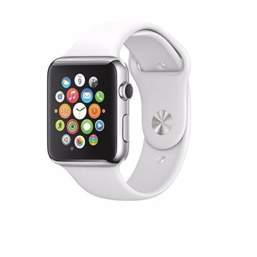 SYL Wireless Bluetooth A1 Smart Watch with Camera and Sim Card Support with Apps Like Whatsapp and Facebook for All 3G & 4G Android/iOS Smartphones - (White)