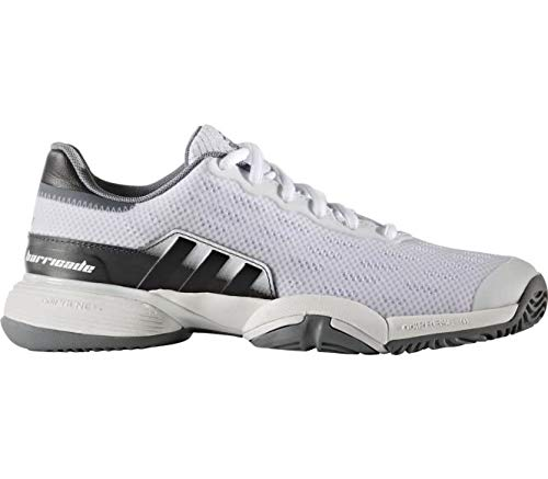 buy online f93e2 c919e Adidas Barricade 2016 Xj, Zapatillas de Tenis Unisex para Niños, Blanco  (Ftwbla