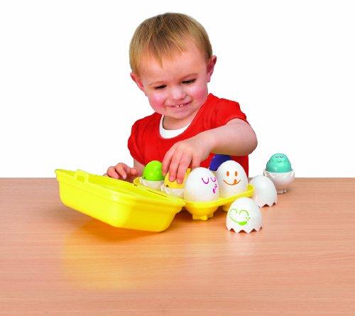 Image of Tomy Play to Learn Hide n Squeak Eggs