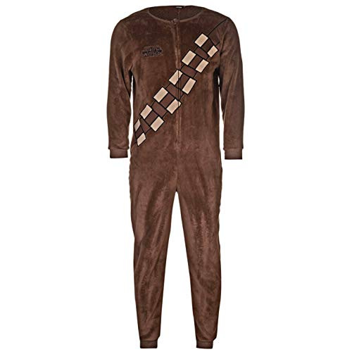 Star Wars Chewbacca Overall Brown Onesie Size Large