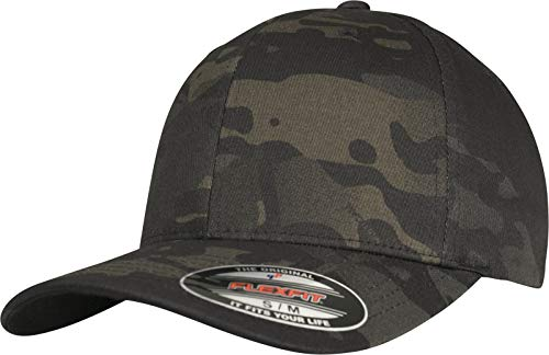 Flexfit Cap, Black Multicam, L/XL