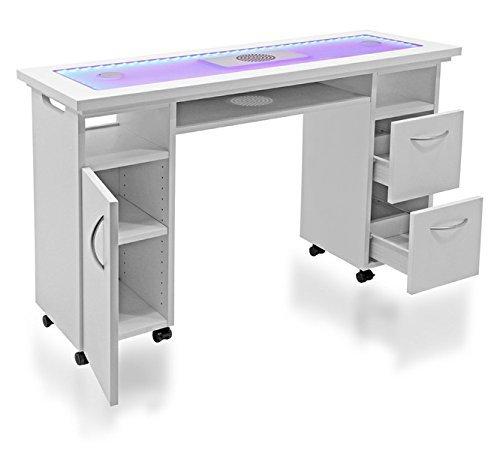 LED Studiotisch mit Absaugung