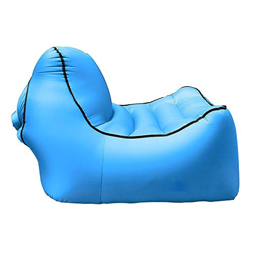 Wand-8-CC Outdoor aufblasbares Sofa Couch Lounge Sessel Strand Camp Chaise Longue für Camping Wandern Picknick Matte Garten Air Hängematte