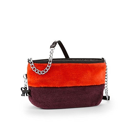 Kipling - Partybag Bpc, Borse Messenger Donna Furry Mix