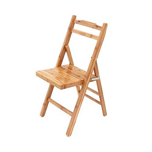 Bambus Set Klappstuhl (WGXX Klappstuhl Stühle Hocker Falten Möbel Haushaltswaren Bambus Lesen Buch Notizbuch Büro Zuhause Bad Küche Garten Leicht Multifunktion Kinder Kinder (größe : 78cm))