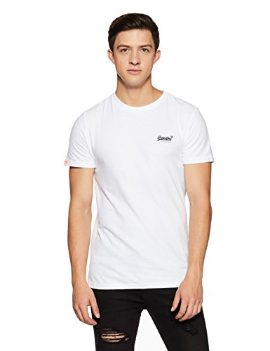 Superdry Men's Orange Label Vintage Emb Tee T-Shirt