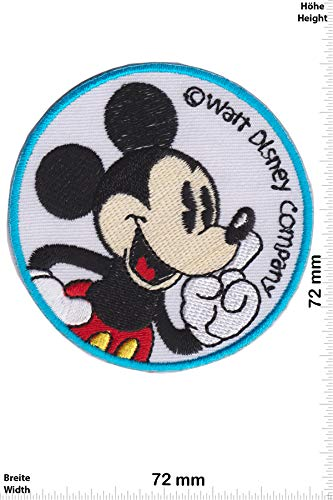 Patch - Mickey Mouse - Walt Disney Company - Cartoon - Mickey Mouse - Aufnäher - zum aufbügeln - Iron ()