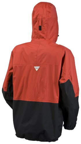 Columbia American Angler Veste pour hommes rouge - Sail Red