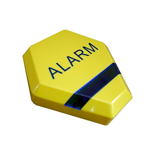Dummy Alarm Bell Box – Solar Powered – Yellow