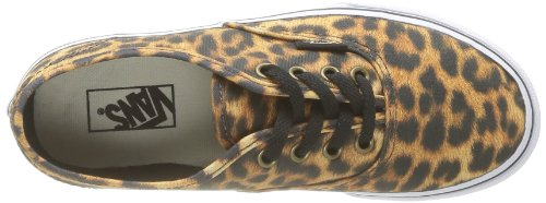 Vans K Authentic (Leopard), Unisex - Kinder Sneaker - Leopard (Black/Brown)