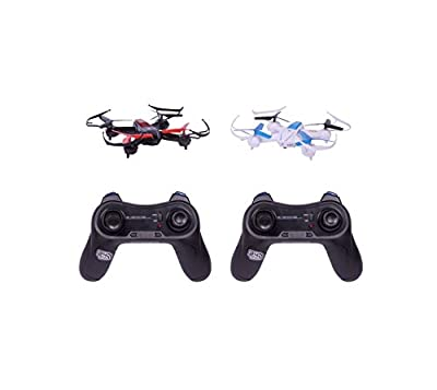 thumbsUp! BTTLDRNE 4 Channel Remote Control Battle Drones (Pack of 2) from thumbsUp!