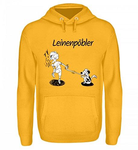 Preisvergleich Produktbild Hochwertiger Unisex Hoodie - Cocoloros Design: Der Leinenpöbler