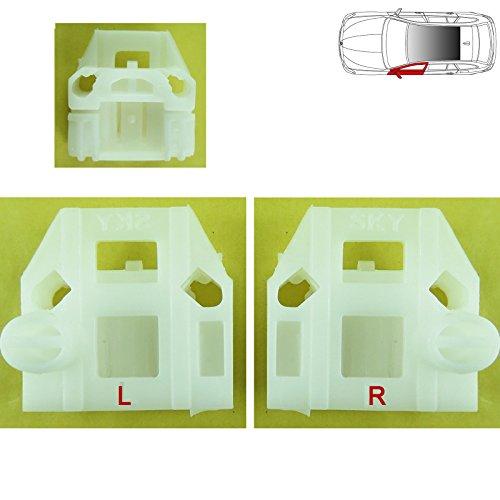 VW Beetle kit di riparazione finestra regolatore clip anteriore sinistra 1999-2004vicino laterale, N/S, UK lato passeggero