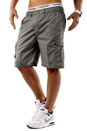 Uomo shorts nuovo freemen id748, farben:grau;größe-shorts:xxxl