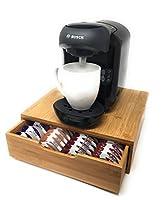 Tassimo Coffee Pod Holder | 64 Pod Storage | Bamboo | Eco-friendly | Luxury | Stylish | Modern | Vegan |