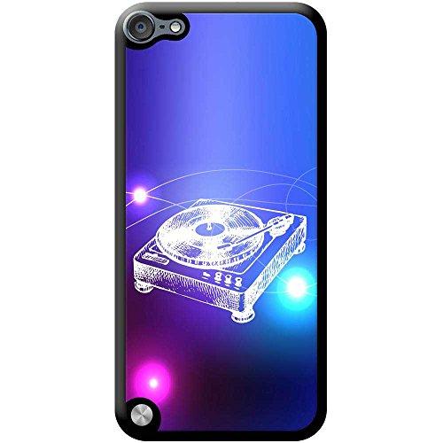 Lineart DJ-Decks Turntables Hartschalenhülle Telefonhülle zum Aufstecken für Apple iPod Touch 5th Generation