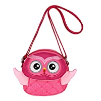 Sumnacon Little Girls Small Purse Shoulder Handbag Cross Body Messenger Bag with Zipper - Nice Stocking Filler