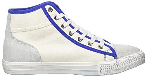 Nebulus  York, Chaussures en forme de bottines homme Blanc