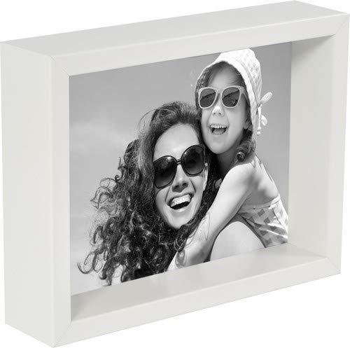 20 x 25 cm Box Bilderrahmen, Weiß