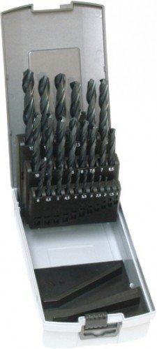 Universal Spiralbohrersatz, 25 Stück, grau, US783802