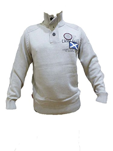 CAMP DAVID SWEATPULLOVER SCOTTISH HIGHLANDS II WALE GREY M L XL XXL (L)
