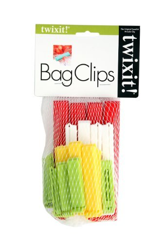 Linden Sweden Twixit Clip Bag Sealers, Set of 20 Assorted by TWIXIT CLIPS Twixit Clip