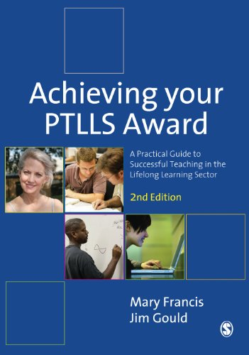 Achieving your ptlls award a practical guide to successful teaching achieving your ptlls award a practical guide to successful teaching in the lifelong learning sector fandeluxe Gallery