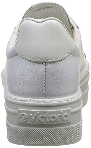 victoria Damen Deportivo Piel Hausschuhe Weiß (Blanco)