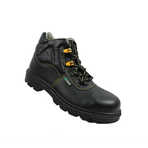 Siili safety hRO berufsschuhe businessschuhe s2 chaussures de chaussures de sécurité chaussures de travail noir Noir