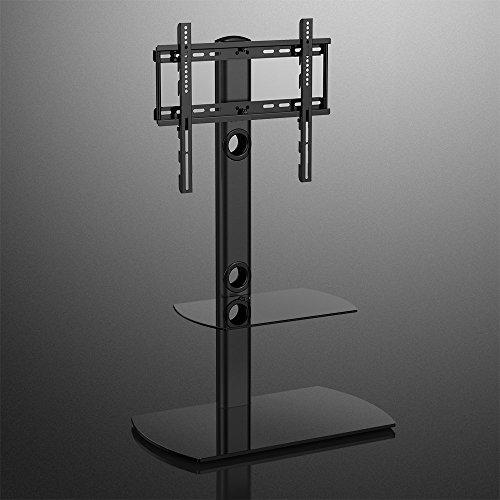 Fitueyes soporte para tv de suelo giratorio con dos - Soporte suelo tv ...