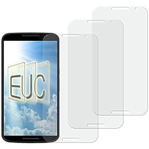 3 x Displayschutzfolie matt/entspiegelnd für Motorola Google Nexus 6