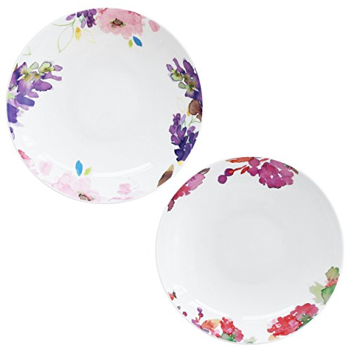 doubleblue-plato-redondo-de-8juego-de-2-de-bone-china-pastoral-marca-apto-para-uso-diario-flores-y-f