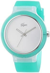 Reloj Lacoste unisex de silicona plata de Lacoste