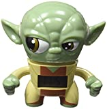 Kanaï Kids–kkcmini2–Wanduhr Wecker–Yoda Star Wars–9cm–Mehrfarbig