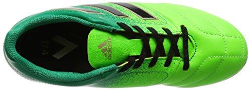 adidas Jungen Ace 17.4 Fxg J Futsalschuhe, Weiss/Gelb/Schwarz neongrün / grün