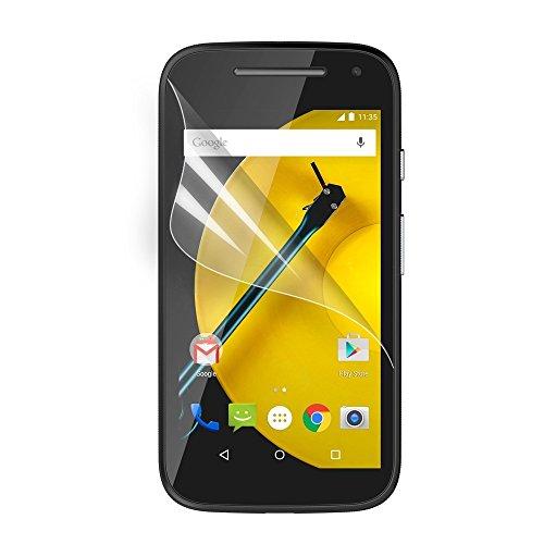 Motorola Moto E 2nd Generation Schutzfolie Klar LCD Screen Guard Protector Tuch -