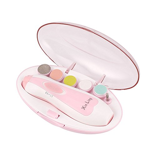 Nagel-Trimmer Set elektrische Baby-Nagel-Trimmer Baby Schere Nagelpflege Werkzeuge Nagel Trimmer Maniküre Set für Kinder Baby - Nagel Trimmer Kit