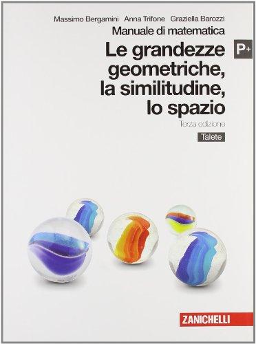 Manuale di matematica. Modulo P plus: Grandezze geometriche, similitudini, spazio. Con Talete. Per le Scuole superiori. Con espansione online