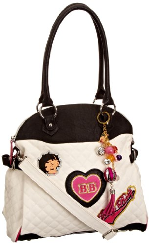 Betty Boop Girl Time, Borsa donna White