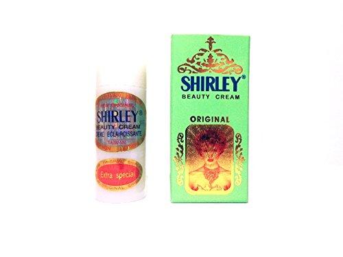 ✔ Shirley Beauty Cream Hautaufheller Bleaching Lightening Pigmentflecken Herbal -