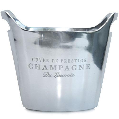 Champagnerkühler oval 'Cuvèe de...' (24,5 x 29,5 x 17,5 cm)
