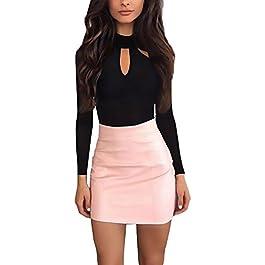 4f05754aa3b1 Body Donna Elegante Manica Lunga Slim Fit Fashion Casual Autunno Inverno  Bodysuit Festa Style Maglia Maniche