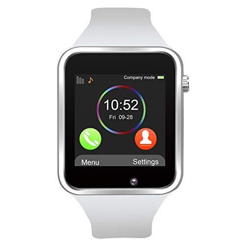 Reloj Inteligente, Jukkarri con Bluetooth y Ranura para Tarjeta SIM para Usar...