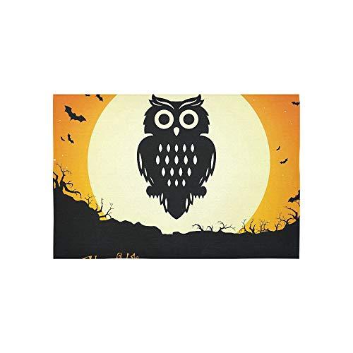 ektor-Illustration eines Halloween-Hintergrunds Wandteppiche Wandbehang Blume Psychedelic Wandbehang Wandbehang Indischen Wohnheim Dekor Für Wohnzimmer Schlafzimmer 60 X 40 Zoll ()